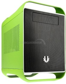BitFenix Prodigy Hazard grün/schwarz, Mini-ITX