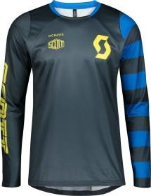 Scott Trail Vertic Trikot langarm nightfall blue/lemongrass yellow (Herren) (275296-6438)