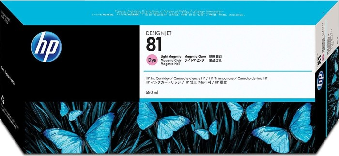 HP ink 81 magenta light (C4935A)