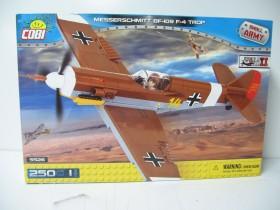 Cobi Historical Collection WW2 Messerschmitt Bf 109 F-4 Trop (5526)