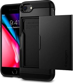 Spigen Slim Armor CS für Apple iPhone SE (2020) schwarz (042CS20455)