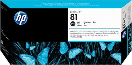HP 81 Printhead black (C4950A)