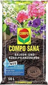 Compo Sana Balkon- und Kübelpflanzenerde, 50l