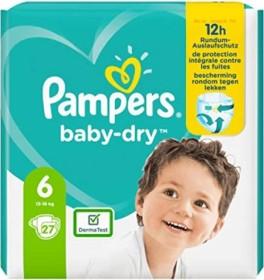 Pampers Baby-Dry Gr.6 Einwegwindel, 13-18kg, 27 Stück