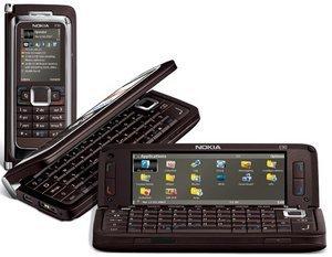 Nokia E90 with branding