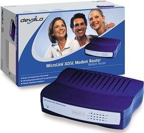 devolo MicroLink ADSL Modem Router