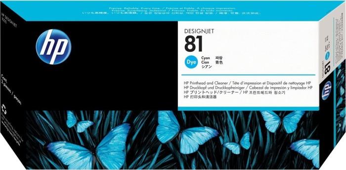 HP Druckkopf 81 cyan (C4951A)