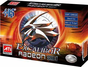 HIS Excalibur Radeon 9600 XT, 128MB DDR, DVI, TV-out, AGP
