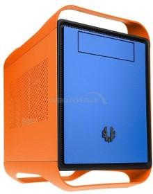 BitFenix Prodigy Gamma orange/blau, Mini-ITX