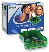 devolo MicroLink 56k Fun II V.92, extern/seriell (1262/1325/1270)
