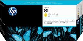 HP Printhead 81 yellow (C4953A)