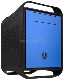 BitFenix Prodigy Storm schwarz/blau, Mini-ITX