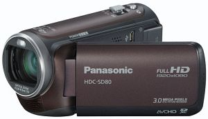 Panasonic HDC-SD80 brown