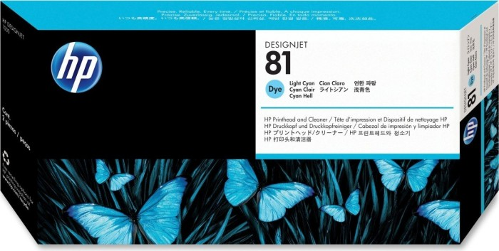 HP Printhead 81 cyan light (C4954A)