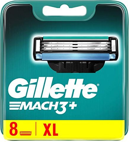 Gillette Mach3 replacement blades 8-pack