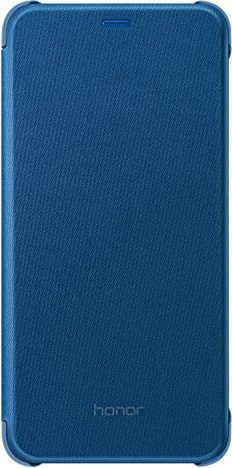 premium selection 2b781 10ffb Huawei Flip Cover for Honor 9 Lite blue (51992423)