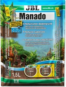 JBL Manado Naturbodengrund für Süßwasser Aquarien, 1.5l (6702100)