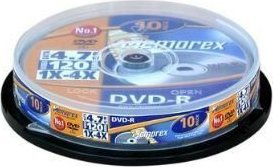 Memorex DVD-R 4.7GB 16x, 10er-Pack (854111-10) -- via Amazon Partnerprogramm
