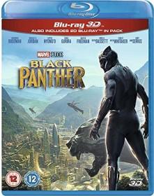 Black Panther (3D) (Blu-ray) (UK)