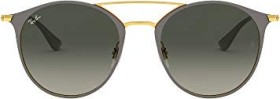 Ray-Ban RB3546 52mm grey-gold/grey gradient (RB3546-917471)