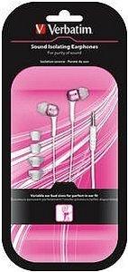Verbatim Sound Isolating-Kopfhörer metallisch rosa (41823)