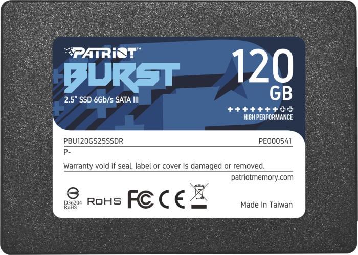 Patriot Burst 120GB, SATA (PBU120GS25SSDR)