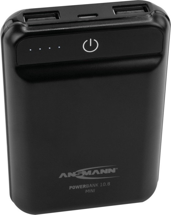Ansmann Powerbank 10.8 mini black (1700-0091)