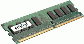 Crucial DIMM 2GB, DDR2-800, CL6 (CT25664AA800)