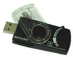 Gembird Cardreader, USB 2.0 (FD2-ALLIN1-C1)