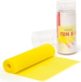 Sissel Fun & Active 200x15cm resistance band medium yellow (3701)