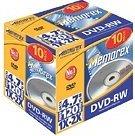 Memorex DVD-RW 4.7GB, 10-pack