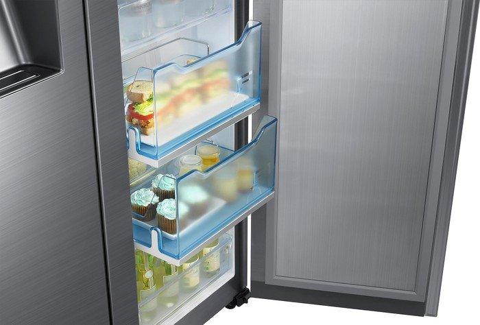 Side By Side Kühlschrank Ohne Festwasseranschluss Media Markt : Samsung rh5gh90707f side by side ab u20ac 2330 10 2019
