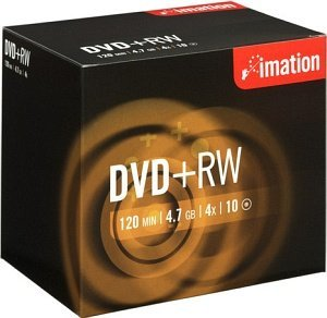 Imation DVD+RW 4.7GB 4x, 10er Jewelcase (19008)
