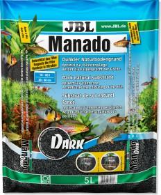 JBL Manado Dark Naturbodengrund für Süßwasser Aquarien, 5l (6703600)