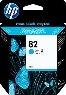 HP 82 Tinte cyan 69ml (C4911A)