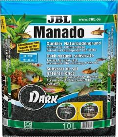 JBL Manado Dark Naturbodengrund für Süßwasser Aquarien, 10l (6703700)