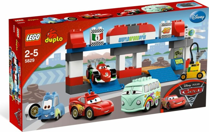 LEGO DUPLO Cars - Großer Boxenstopp (5829) -- via Amazon Partnerprogramm