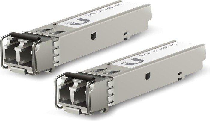 Ubiquiti UF-MM Gigabit LAN-Transceiver, LC-Duplex MM 550m, SFP, 2er-Pack (UF-MM-1G-2)