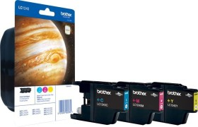 Brother Tinte LC1240 Rainbow Pack (LC1240RBWBPDR)