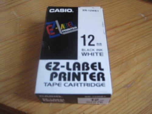 Casio XR-12WE1 12mm, schwarz/weiß -- via Amazon Partnerprogramm