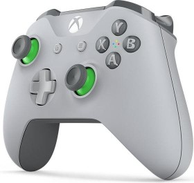 Microsoft Xbox One Wireless Controller grau/grün (Xbox One/PC)
