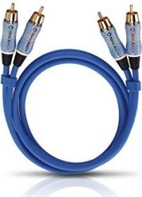 Oehlbach Beat! Stereo Set Composite Audio Kabel blau (verschiedene Längen)