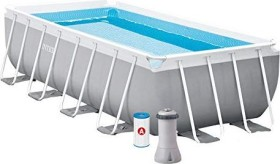 Intex Prism Rectangular Frame Pool Set 488x244x107cm (26792GN)