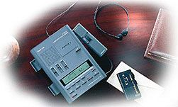 Olympus DT-2000 D voice recorder system analog