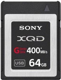 Sony G-Series R400/W350 XQD Card 64GB (QD-G64A)