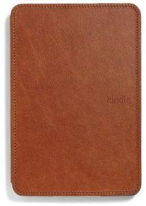Amazon Kindle Touch Lederhülle mit Leseleuchte braun (515-1061-03)