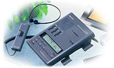 Olympus DT-1100 D voice recorder system analog