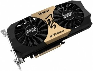 Palit GeForce GTX 670 JetStream, 2GB GDDR5, 2x DVI, HDMI, DisplayPort (NE5X67001042J)