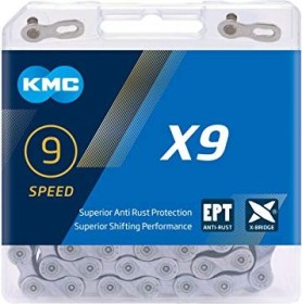 KMC X9 EPT 9 speed chain (BX09EP114)