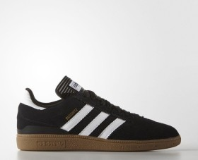 adidas Busenitz black/metallic gold/running white (Herren) (G48060)